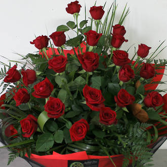 24 or 36 Luxury Red Roses
