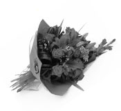 black-and-white-bouquet